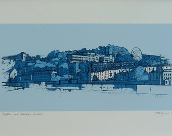 Clifton & Hotwells, Bristol - Limited Edition Contemporary Giclée Print