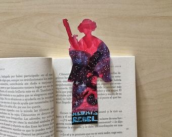 STAR WARS · Princess Leia Bookmark · Always Rebel