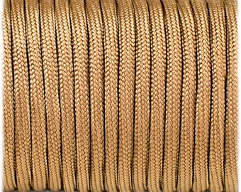 Paracord 550 Type 3 - Coyote - Genuine Mil Spec Parachute Cord
