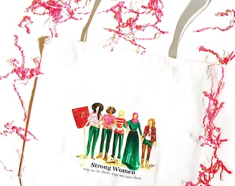Nasty Women Tote Bag