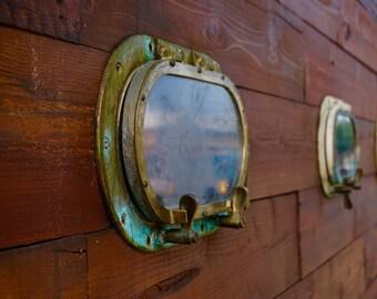 Portholes to Seattle - Photo Art Print