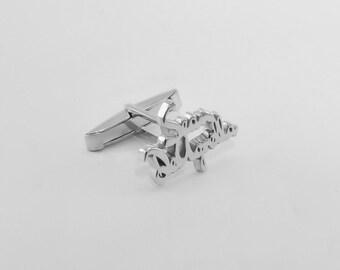 Groom Wedding Cufflinks - Initial Cufflink -  Personalized Cufflinks - Letters Cufflinks - Initials Cufflinks - Father's day gift