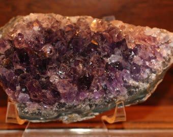 A Grade Amethyst Geode Cluster - 1D