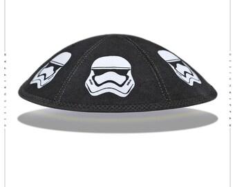 Star Wars stormtrooper kippah yarmulke yamaka kippa.