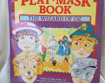 Wizard of Oz Play-Mask Book