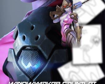 Widowmaker | Gauntlet & Shoulder Armor | Cosplay Template