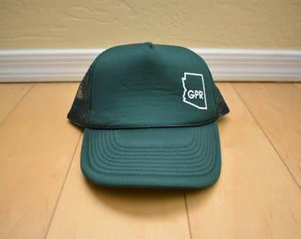 Vintage Mesh Snapback Trucker Hat Arizona