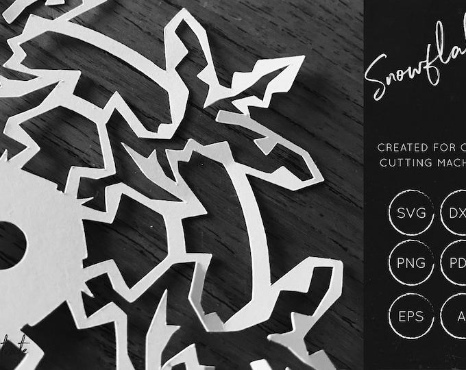 Snowflake DXF / SVG