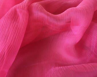 Chiffon creponnee Haute Couture - 170cm x 130cm