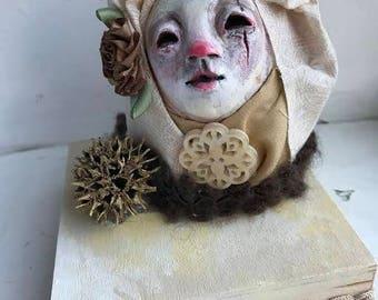 Sam.  art doll