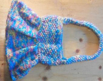 lapin de sacs tricotés à la main
