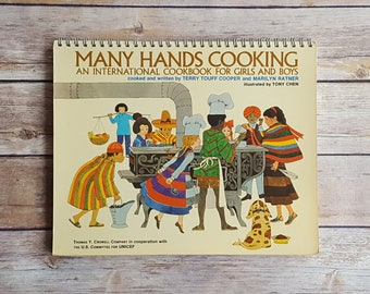 Many Hands Cooking International Cookbook For Girls And Boys Liptoi Cheese Hungary World Dishes Beginners Cookbook Children's Chef Gift Cook