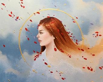 Thin Air- original oil painting