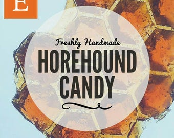 Horehound Marrubium vulgare Candy - 1/4 lbs - sore throat aid