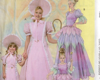McCall's LITTLE BO PEEP Costume Pattern 4622 Child Sizes 3-4 5-6 7-8
