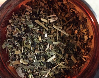 Zzz tea; herbal tea blend