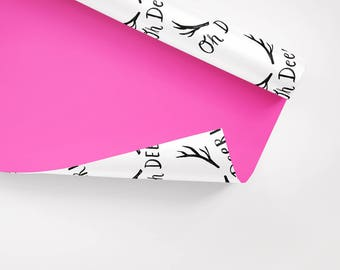5x Wrapping Paper / Oh Deer