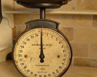 Household Salter Scale No. 46 British Made