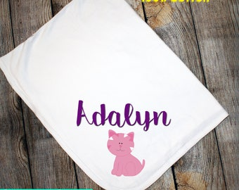 30x40 Personalized Baby Blanket