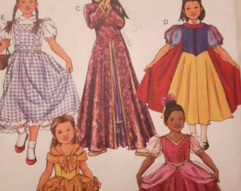 Butterick 4320, Girl's Princess Costume Pattern
