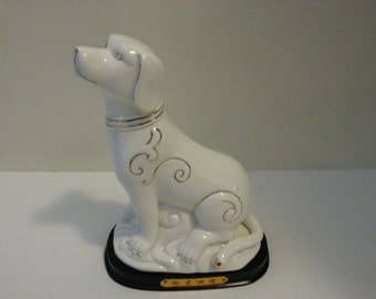 Chinese Ceramic Dog Figurine