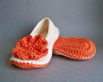 Crochet Slipper Pattern, Crochet Pattern, Spring Crochet, Crochet Slippers, Adult Crochet Slippers, Womens Crochet Slippers, Crochet Slipper
