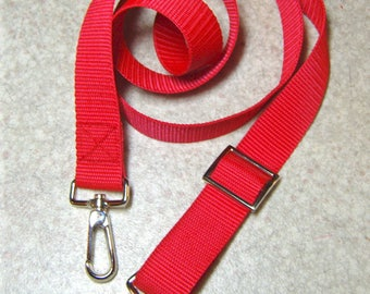 Adjustable crossbody strap 3 cm wide, various colors, belt for sports or travel bag