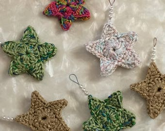Crochet Star Ornament Set