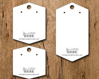 Custom Earring Display Cards with your Logo | BT01BR