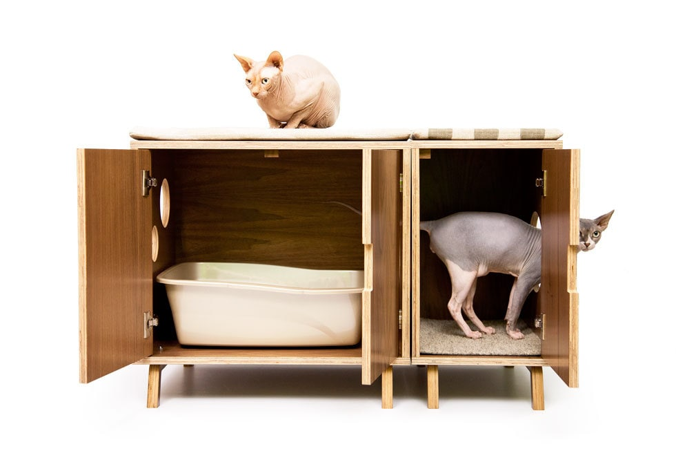 Decorative Litter Box Awesome Mid Century Modern Cat Litter Box Furniture Large Cat Litter Design Decoration