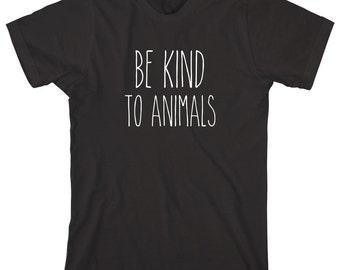 Be Kind To Animals Shirt, funny animal shirt - ID: 1181