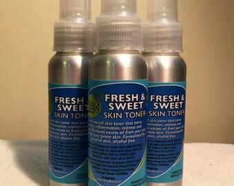 Fresh and Sweet Skin Toner - alcohol free