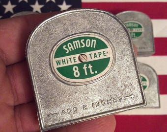 1960's Vintage Samson 8Ft Tape Measure