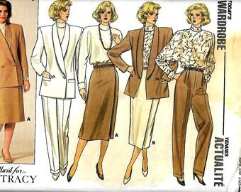Butterick 4113  Misses Jacket, Skirt, Pants and Blouse   Size 14,16,18     Uncut