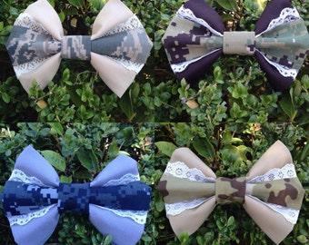 Dual Fabric Bow