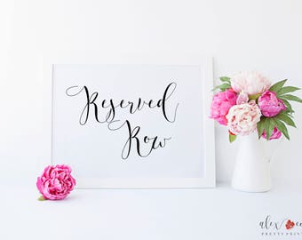 Printable Reserved Row Sign. Reserved Row Printable. Reserved Row Sign. Printable Reserved Sign. Reserved Printable. Reserved Sign.