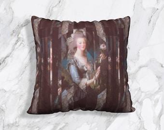 """Antoinette - Rose Pillow Cover 22"""" x 22"""""""