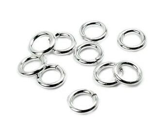 Open 7.8x1.5 AC0119 PK510 mm 925 Silver ring