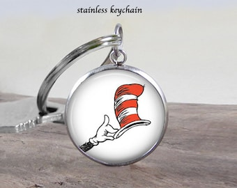 The cat in the hat etsy for Cat in the hat jewelry