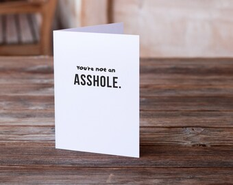 Funny Love Card | Anniversary Card | Valentine's Card | Anti-Valentine's Card | Funny Greeting Card | Humor Card | Funny Card