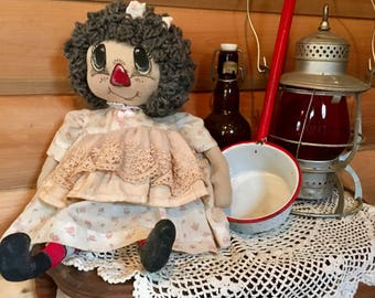 Hand made Primitive Doll