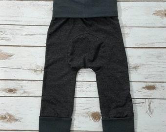 grow with me pants,evolution pants,maxaloones,grey baby leggings,baby shower,baby girl,baby boy,gray baby pants,gray maxaloons