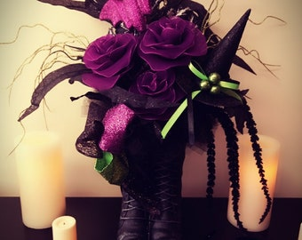 Witches Boot Floral Arrangement