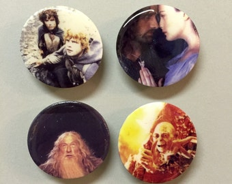 Lord of the Magnets - Set of 4 Lord of the Rings Magnets