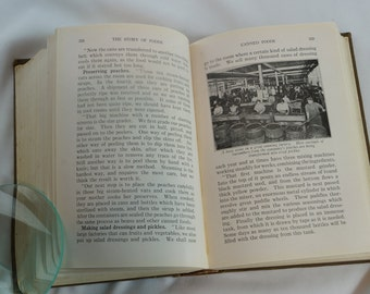 The Story of Foods Rand McNally & Co.   101 YEAR OLD BOOK