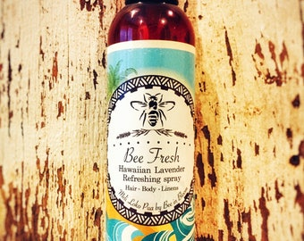 Bee Fresh - lavender and Hawaiian Lavender body, linen, and room refreshing spray