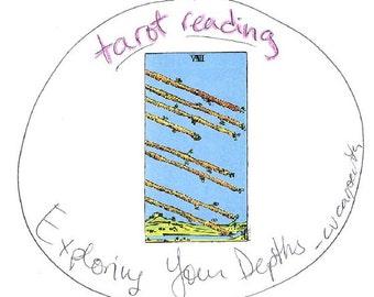 Tarot Card Reading - 13-card spread