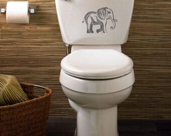 Elephant laptop DECAL- macbook iPad computer- vinyl sticker- Africa animal