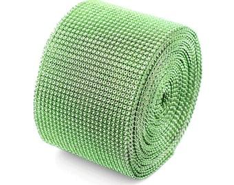 "Green Diamond Mesh Ribbon - 4.5"" x 30 Feet"