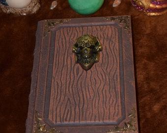 Warcraft Lich King Alliance spellbook tome grimoire sketchbook journal larp cosplay wicca witchcraft